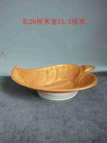 唐代時期金葉盤子、