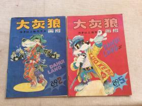 大灰狼 畫報 1989年第2.5期,3歲以上獨生子女(共2本合售)