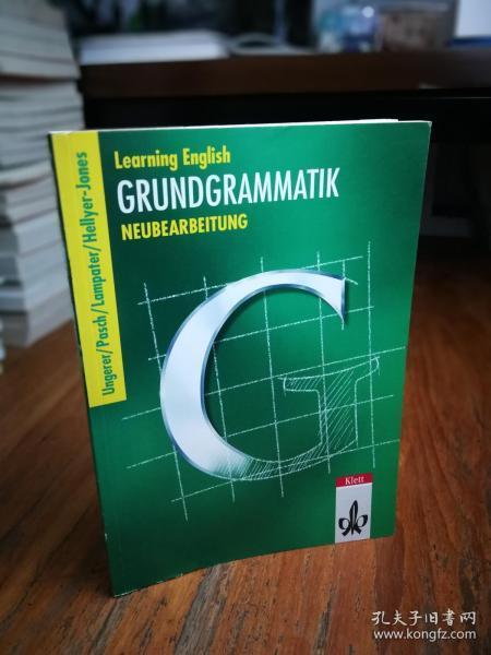 Learning English, Grundgrammatik, Ausgabe für Gymnasien, Neubearbeitung, Lehrbuch【德文原版】