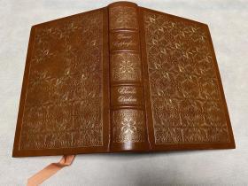 The Personal History of David Copperfield 真皮精装 书口三面刷金,能保存数百年的存档级别的无酸纸