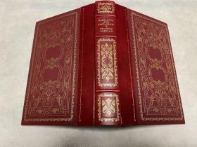 The Histories of Gargantua and  Pantagruel  书脊及四角真皮包裹 书口三面刷金,