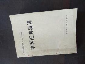中医师复习自测丛书之四:中医经典温课