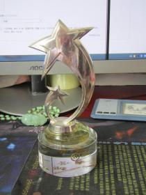 恒昌财富管理三部2015年度优秀营业部经理奖杯【邹峰】