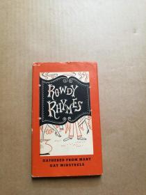ROWDY RHYMES