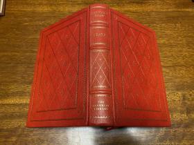 Bernard Shaw three Plays  Franklin Library真皮精装限量版   书口三面刷金,能保存数百年的存档级别的无酸纸。
