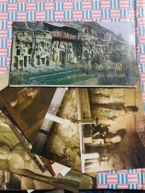 庆阳北石窟 明信片 12张全 品相佳