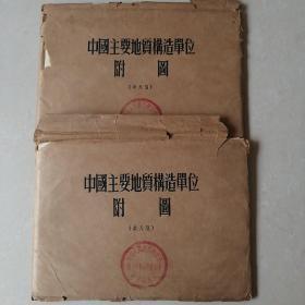中国主要地质构造单位附图(共八张)