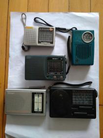 收音机5个