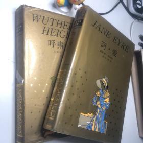 简·爱 呼啸山庄 两册 精装 一版一印