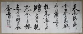 精品书法,陕西省书协会员,强望