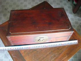 民国榉木帖盒一只