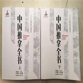 上下两册 《中国推拿全书》 金义成 石学敏 主编 推拿书籍中医健康书籍