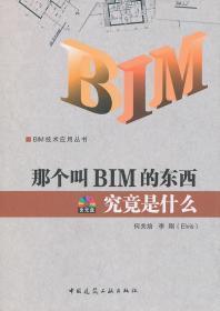 那個叫BIM的東西究竟是什么