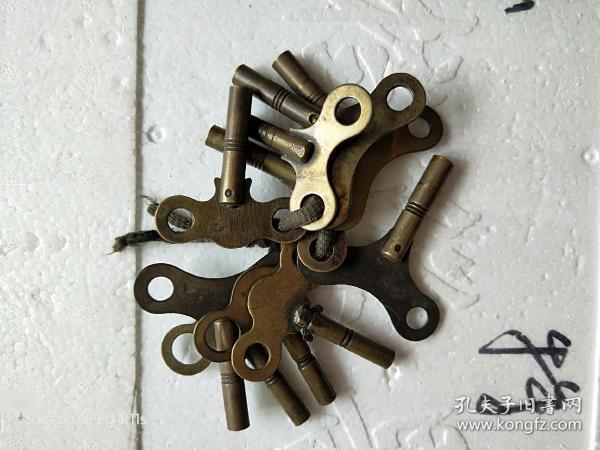 全銅鑰匙,方孔。單個45包郵,通走350包郵