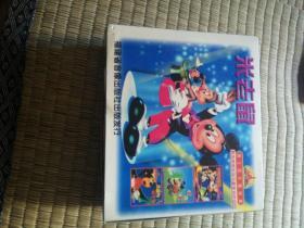 VCD,米老鼠。4碟片。米奇与米呢,帅哥米奇。米奇与豌豆茎。我爱米奇