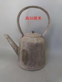 鄉下收的一把老水壺