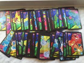 童年懷舊 寵物小精靈 神奇寶貝 精靈寶可夢 自制卡片