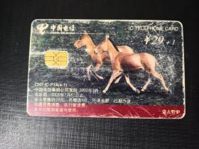 IC電話舊卡(CNT-IC-P14(4-1))蒙古野驢