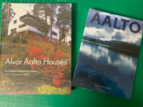 阿尔瓦 阿尔托10栋家宅 : 10 Selected Houses+Alvar Aalto Houses 2本合售