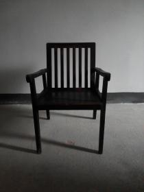 椅子 老物件 靠背扶手椅 铁力木