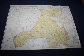 兴安南省兴安西省地图   ==   满洲国地图