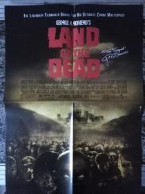 电影海报 Land of the Dead 反面 星球大战3(4开
