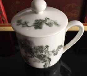醴陵群力陶瓷研究所人民大会堂专用杯子8831
