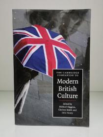剑桥大学现代英国文化指南  The Cambridge Companion to Modern British Culture(英国研究)英文原版书