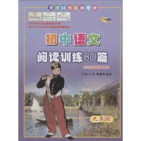 68所名校图书 68所中学初中语文阅读训练80篇 9年级 白金版 初中同步阅读  新华正版