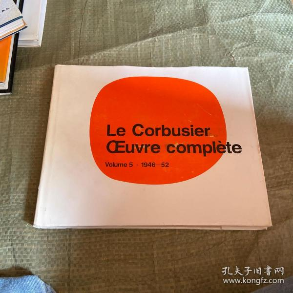 Le Corbusier - Oeuvre Complete:1934-1939 Vol 3