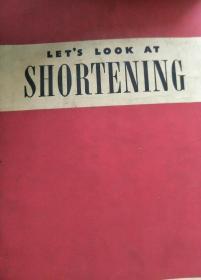 Lets look at shortening(讓我們瞧瞧奶油制作) 民國彩色版  多圖 孔網唯一