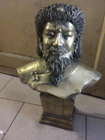 老铜器 雕塑 铜像 铜摆件