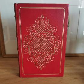 萨特签名本 Five Plays 《戏剧五种》Franklin Library(富兰克林图书馆)1978年出版 真皮装帧 保真