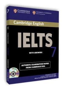 剑桥雅思考试全真试题集7  剑桥大学考试委员会 编  Cambridge出版社 9780521146944