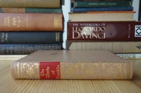 1932年精装 富兰克林自传 书顶刷金 富兰克林自传  The Autobiography of Benjamin Franklin