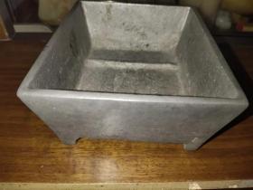 铝制老水盂、水洗、水仙盆