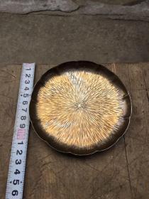 日本铜器,茶杯垫,,,