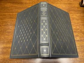 真皮 精装  特殊版 书口三面刷金,能保存数百年的存档级别的无酸纸。含两卷全。