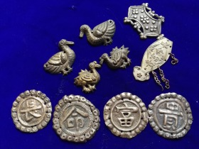 特价清末民国老银器银饰一堆10个共258元包老保真