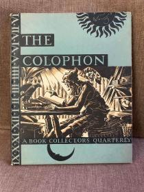 Colophon: Part Nine(老版书迷季刊Colophon第9辑,藏书名家云集,插图丰富,限量本,精装毛边大开本,印制精美,保留特制版画)