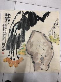 刘 文西花卉作品