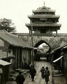 上世纪三十年代山东老照片9张5吋的hw