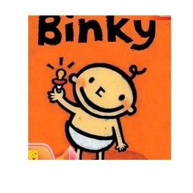 Binky [Board book]
