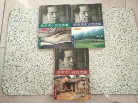 陈忠实小说自选集:短篇卷、中篇卷、长篇卷  全三册