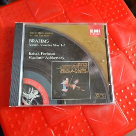 GREAT RECORDINGS OF THE CENTURY  BRAHMS Violin Sonatas NOS.1-3【CD】