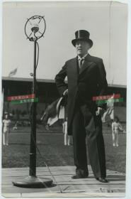 民國時期1935年瑞典探險家斯文赫定Sven Hedin老照片