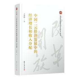 中国二元经济发展中的经济增长和收入分配(纪念改革开放四十周年丛书)