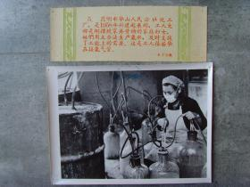 老照片:【※1960年,云南昆明市華山人民公社化工廠,婦女們用土法生產氨水※】