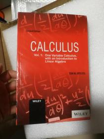 Calculus: One Variable Calculus, with an Introduction to Linear Algebra Vol 1  原版正版 TOM M. APOSTOL