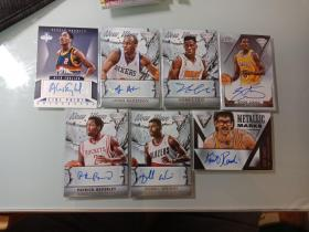 NBA球星卡(簽名卡)